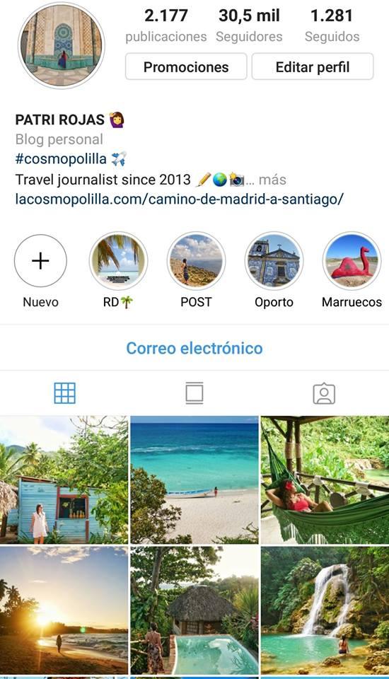Instagram la cosmopolilla