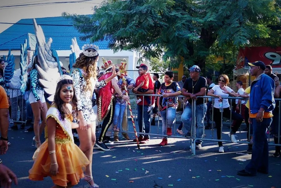 La reina del carnaval de La Vega