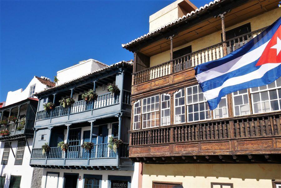 Balcones de la Avenida Marítima