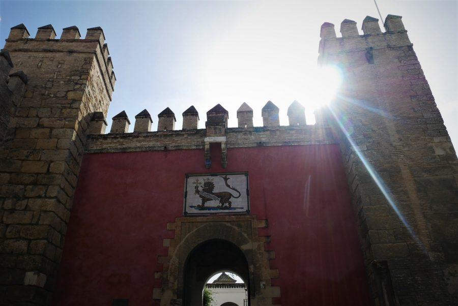 Entrada al Alcázar de Sevilla