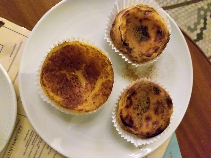 Pasteles de nata en Oporto