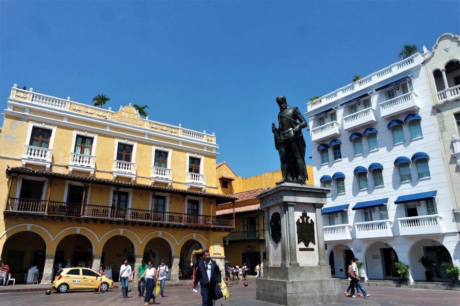 Plaza de los Coches, Cartagena de Indias