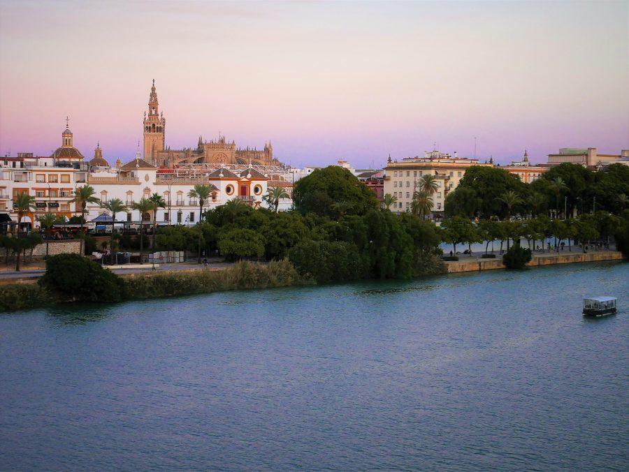 Vistas de Sevilla desde el Maríatrifulca