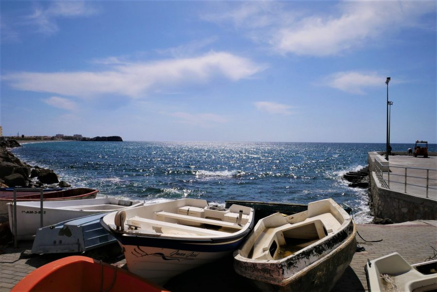 Barcas de pescadores, la Caleta, Salobreña