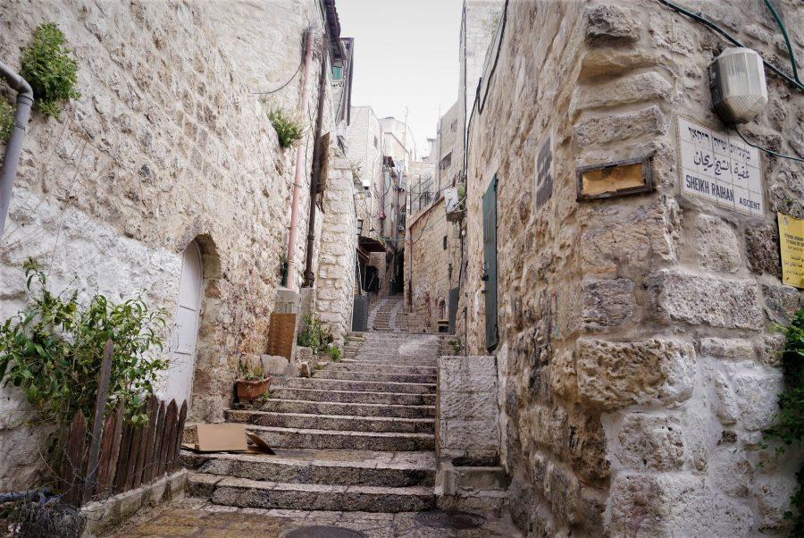 Calles de la Ciudad Vieja de Jerusalén
