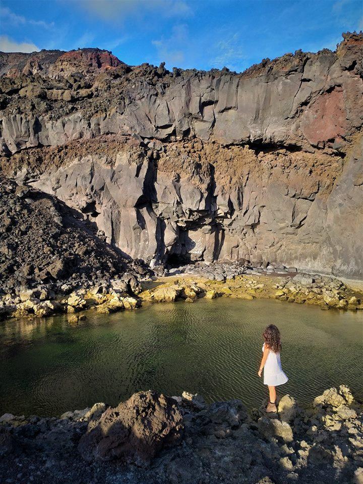 Charcos de Echentive, playas de la isla de La Palma