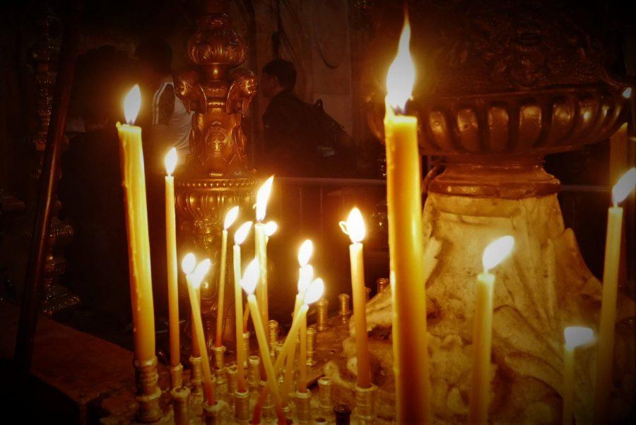 Velas, iglesia del Santo Sepulcro