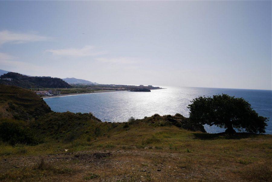 Vistas al mar desde la senda Mediterránea