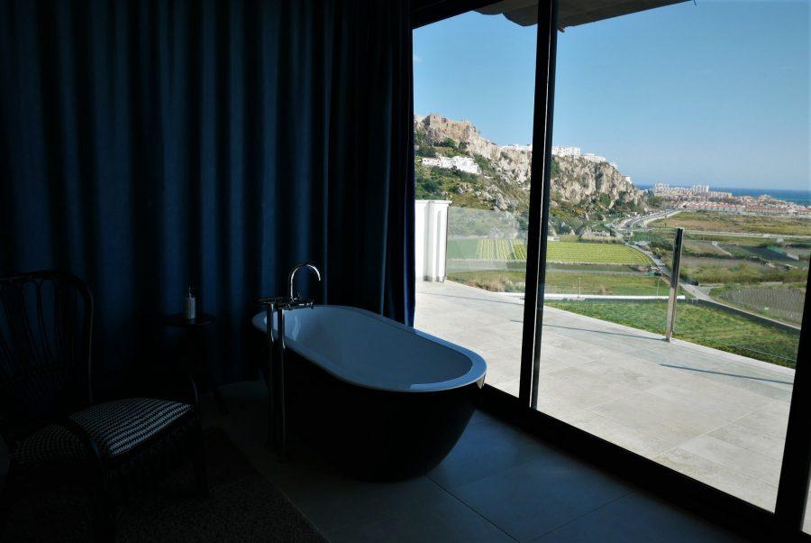 Vistas desde la habitación del hotel Miba
