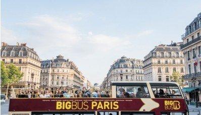 París en autobús turístico