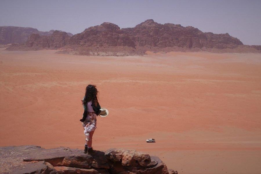 El desierto de Wadi Rum en Jordania