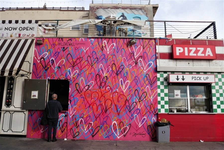 Love Mural en Venice Beach, qué ver en Los Ángeles