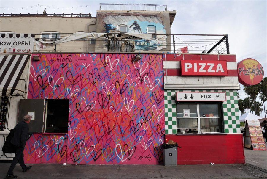 Love Wall en Venice, Los Angeles