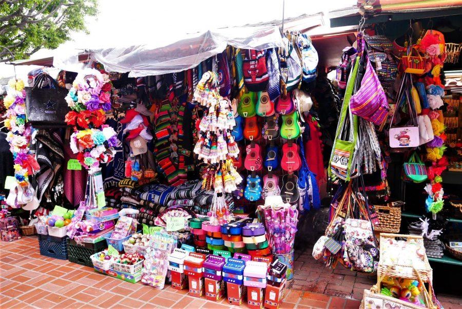 Mercadillo mexicano en Los Angeles