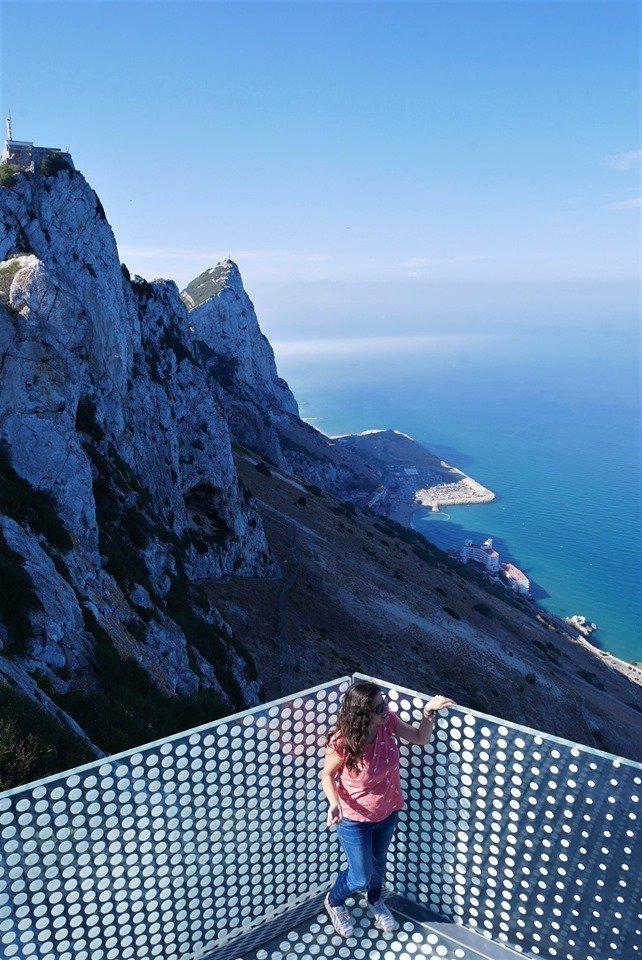 Mirador a La Roca, Skywalk, qué visitar en Gibraltar