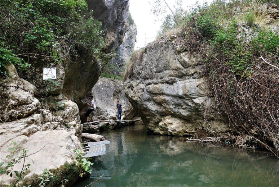 Pasarelas, ruta del Zarzalar