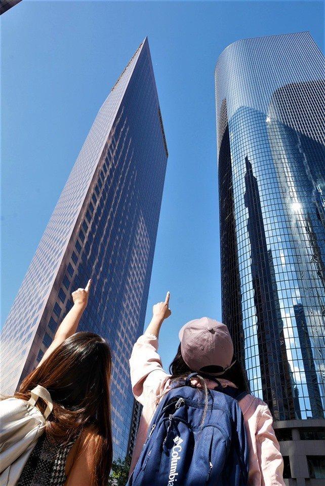 Rascacielos, Downtown de Los Angeles