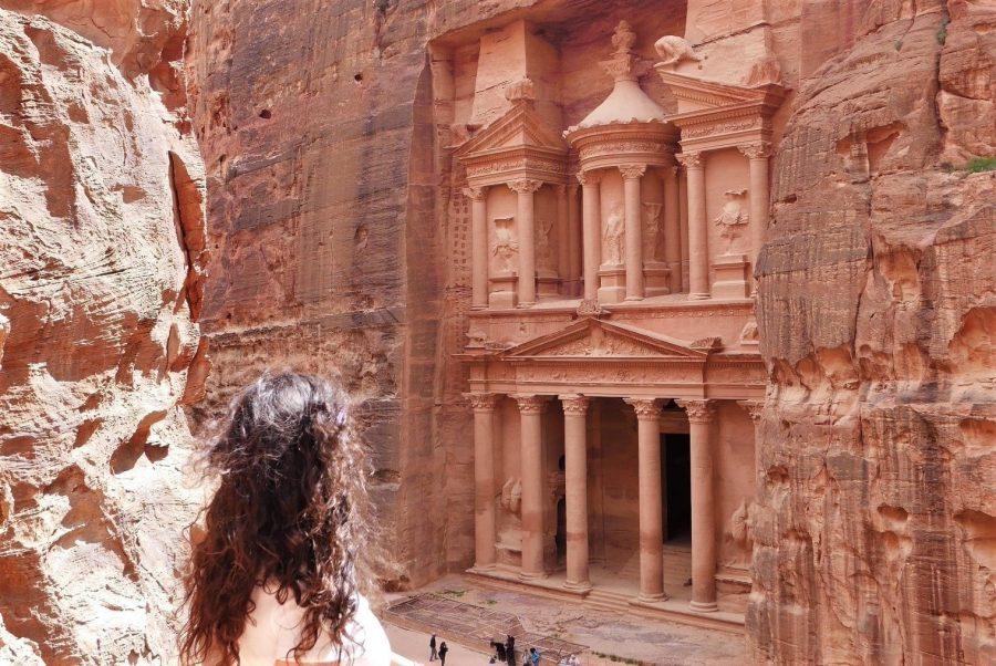 Vistas de El Tesoro, Petra