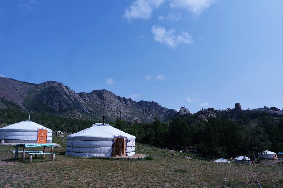 Yurta en Mongolia