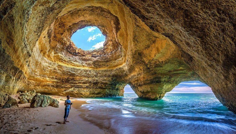 Cueva de Benagil, El Algarve