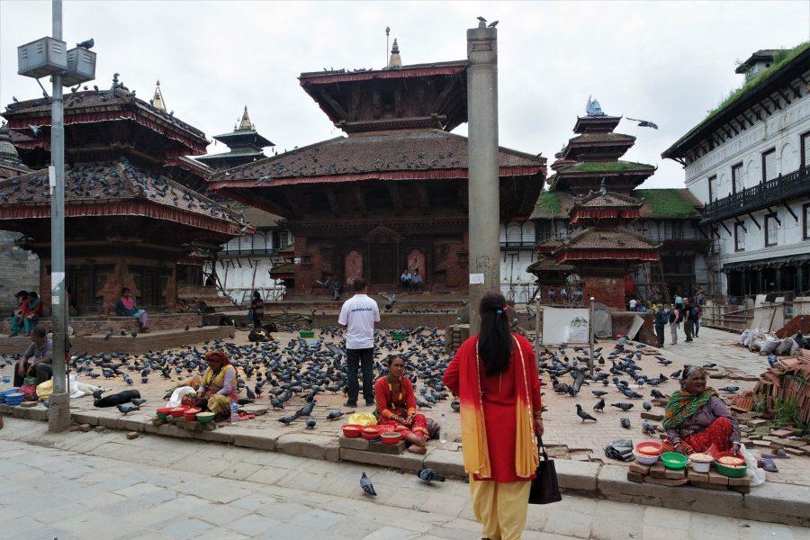 Plaza Durbar de Katmandú, ruta de 20 días por Nepal