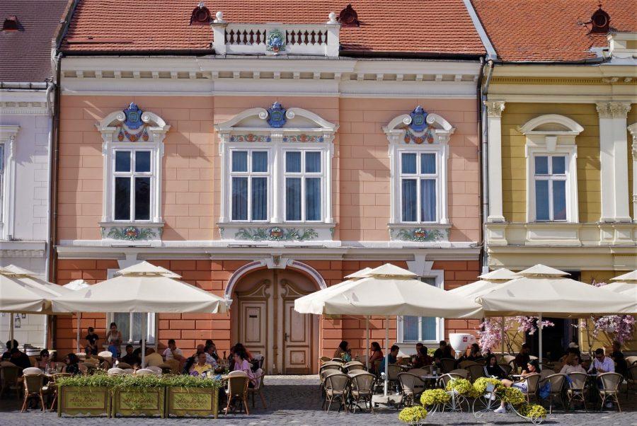Ambiente de terrazas en Timisoara