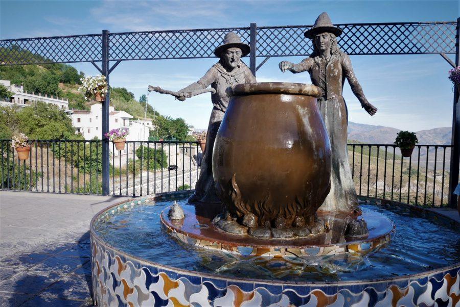 Mirador del Embrujo, Soportújar, ruta en coche por la Alpujarra de Granada