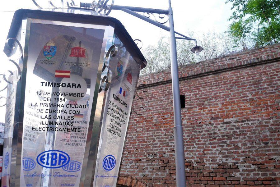 Monumento a la bombilla, Timisoara