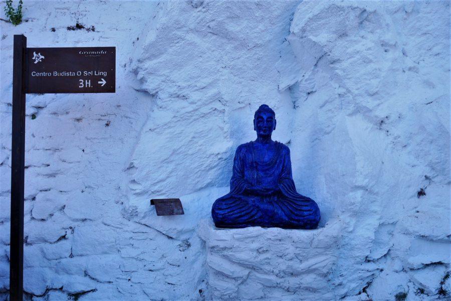 Sendero a O Sel Ling, ruta en coche por la Alpujarra granadina
