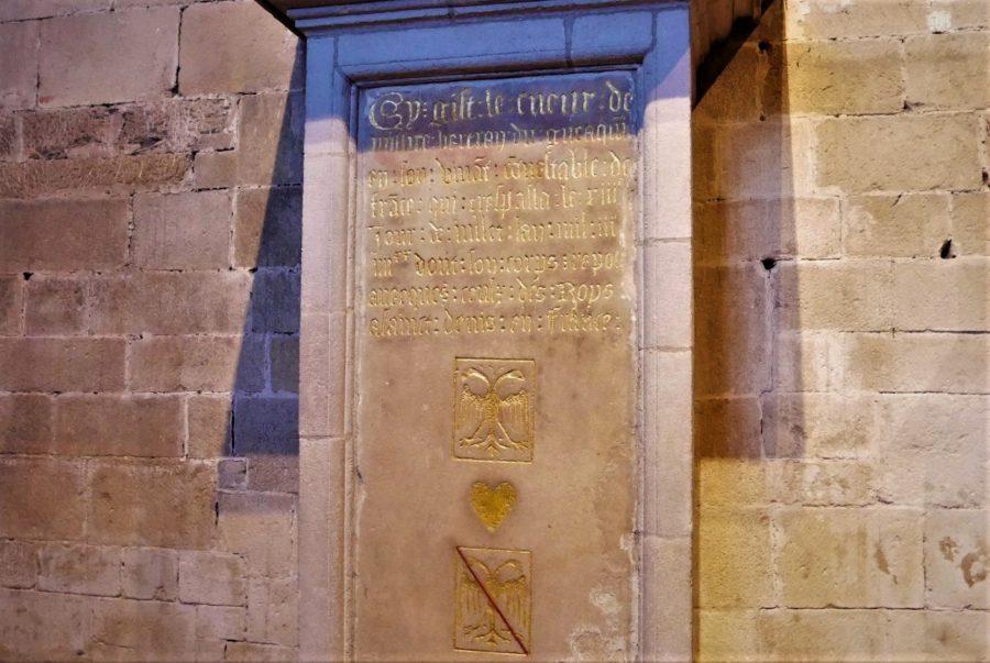El corazón de la basílica de Dinan
