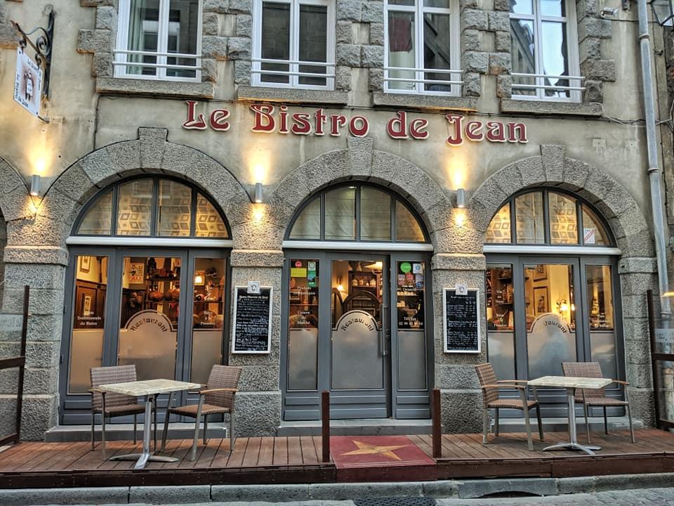 Le bistro de Jean en Saint-Malo