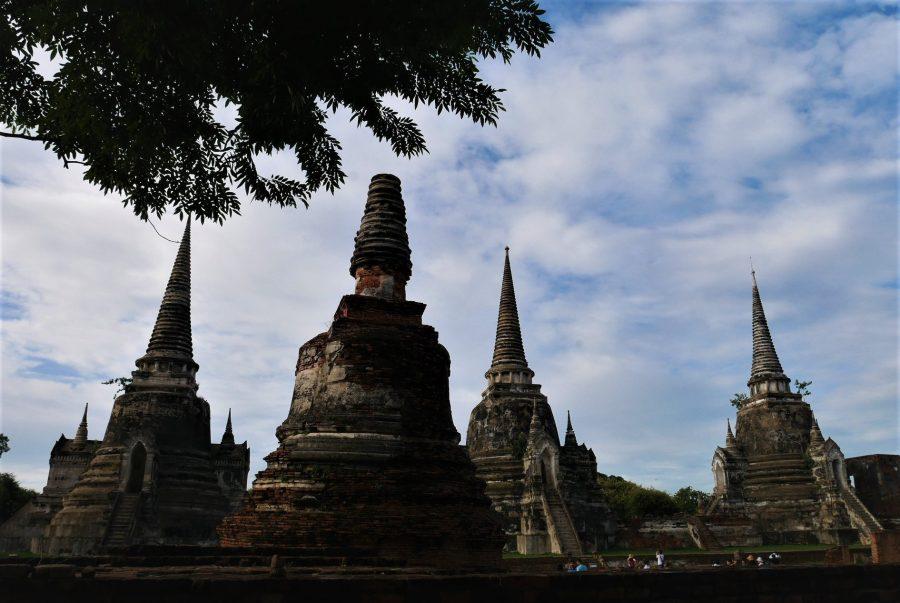 Estupas de Ayutthaya