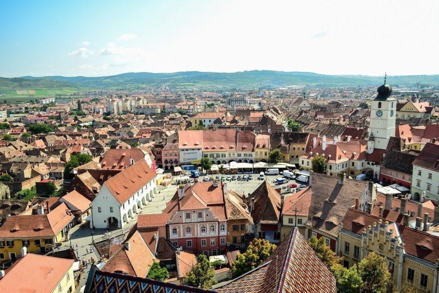 Sibiu, circuito de Drácula en Transilvania, Rumanía