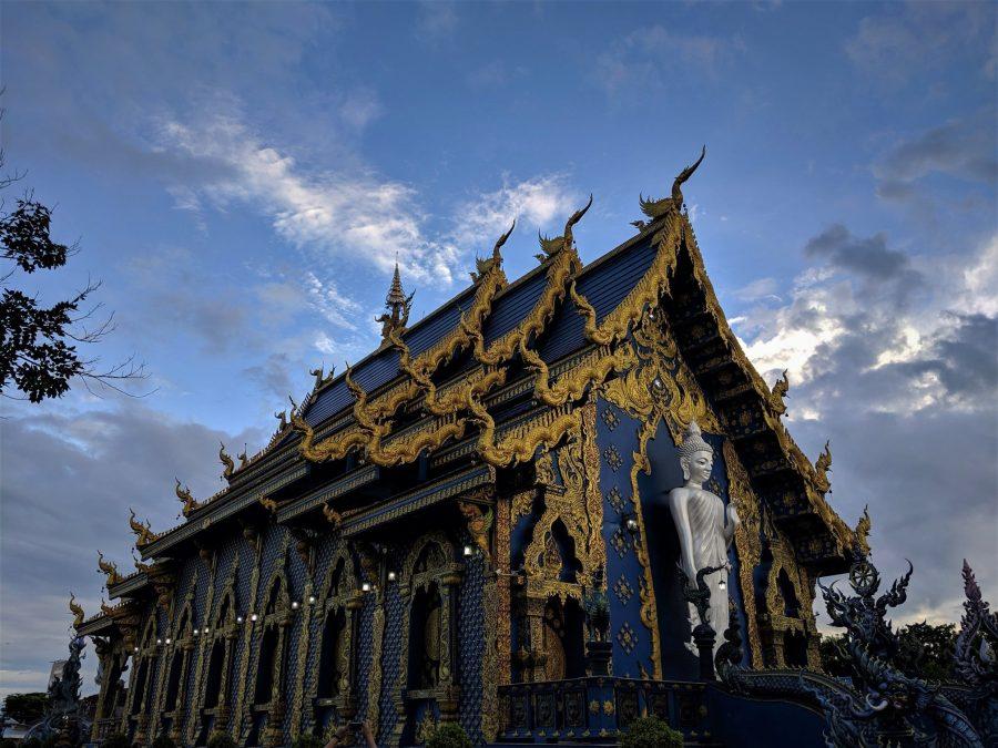 Templo Azul, lugares que visitar en Chiang Rai