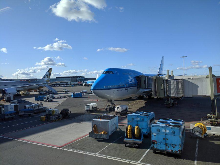 Avión a México de KLM