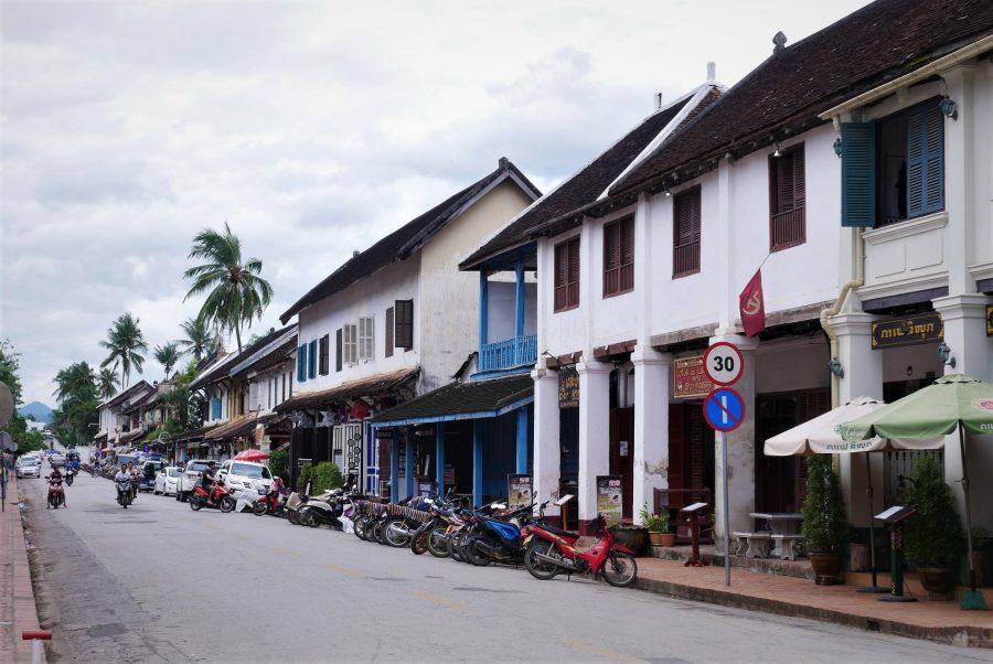 Calle principal de Luang Prabang