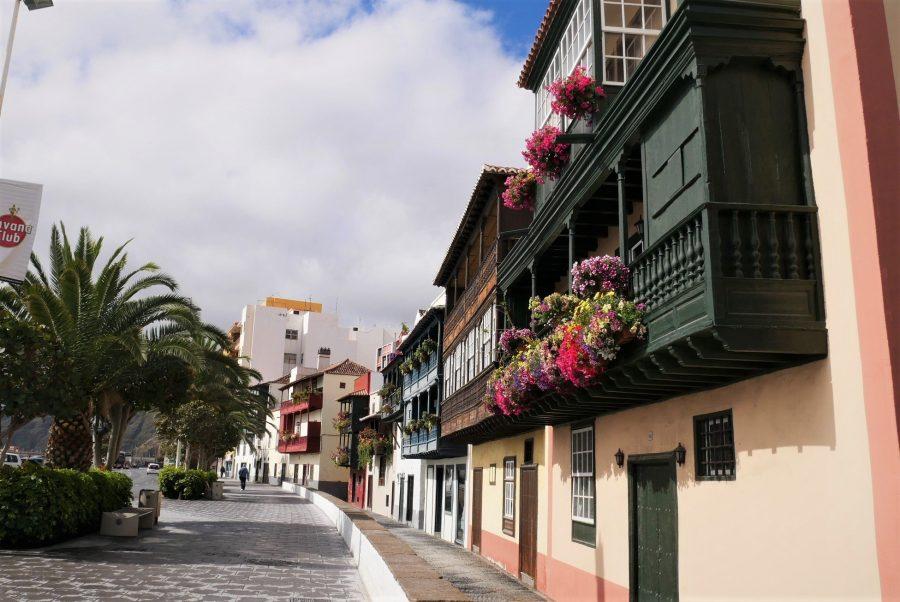 Fachadas de la Avenida Marítima, qué ver en Santa Cruz de La Palma