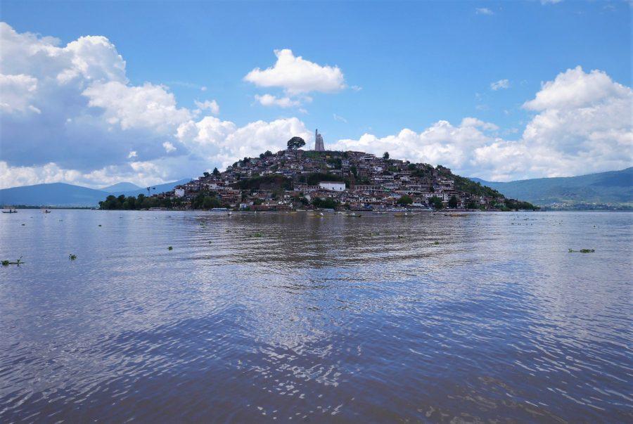 Isla de Janitzio en México
