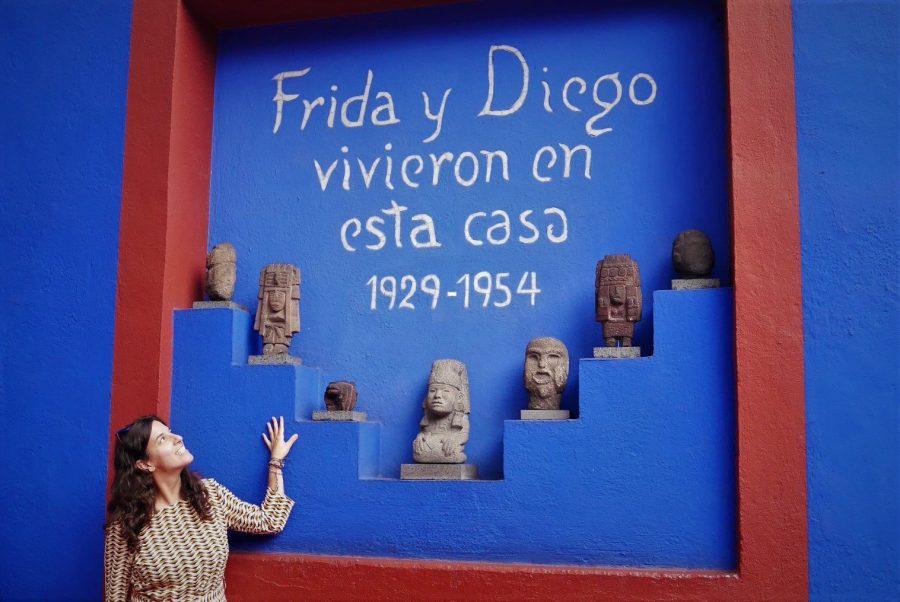 Visita a la Casa Museo de Frida Kahlo en México