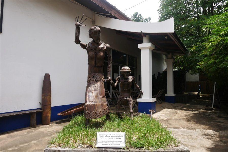 Centro de visitantes COPE, qué ver en Vientiane