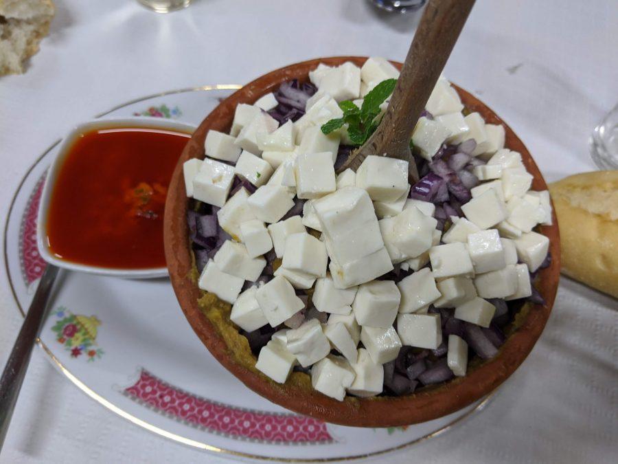 Escaldón de gofio, comida típica canaria