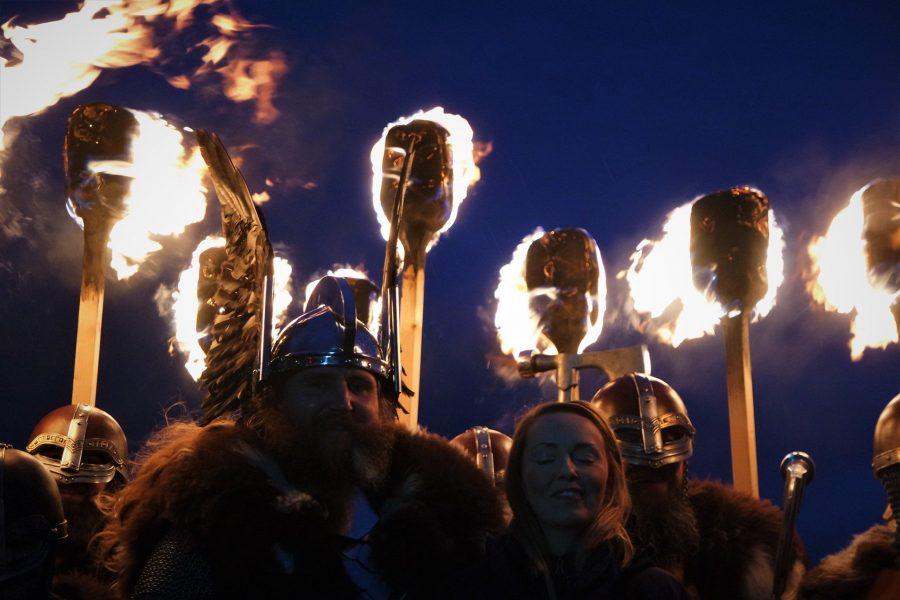 Festival vikingo de Escocia Up Helly Aa