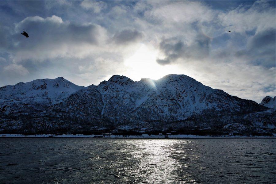 Paisaje de naturaleza de las islas Lofoten