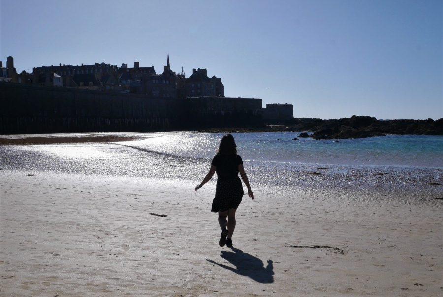 Las mareas de Saint-Malo son peligrosas