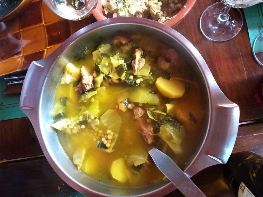 Potaje de Garafía, La Palma, comida típica canaria