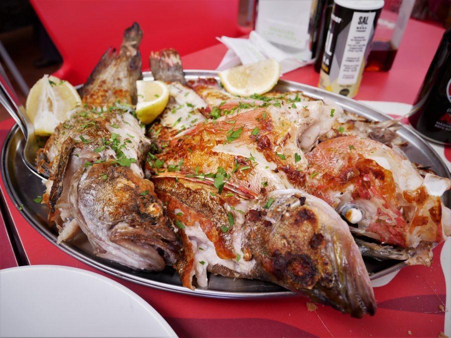 Viejas, pescado típico de Canarias