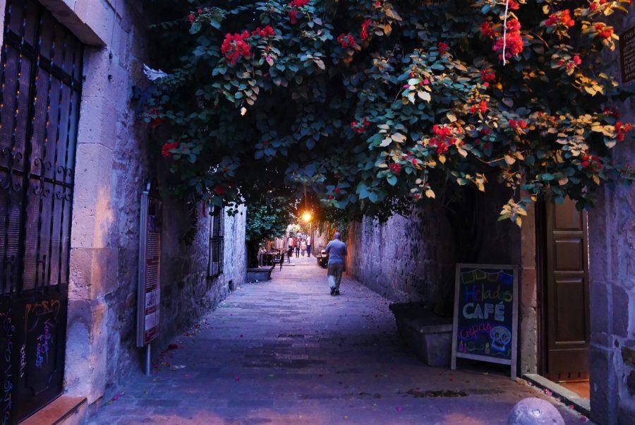 Callejón del Romance en Morelia