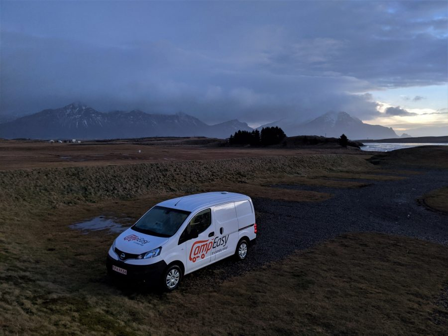 Camping de Höfn, ruta por el sur de Islandia en Furgoneta
