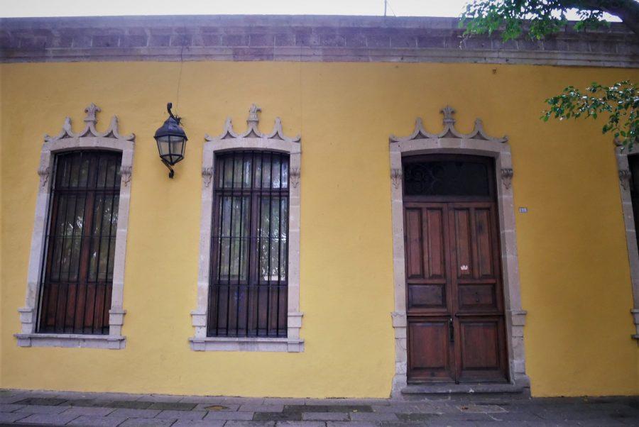 Casas de Morelia, la capital de Michoacán