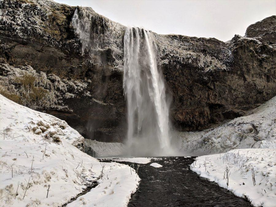 Cascada de Seljalandsfoss, Islandia